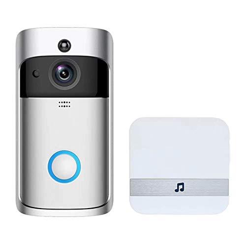 Intelligent WiFi WiFi Inalámbrico Inicio Timbre, Intercomunicador De Voz Bidireccional, Detección De Movimiento PIR, Lente De Gran Angular De 16 Grados, Interruptor Automático De La Visión Nocturna 14