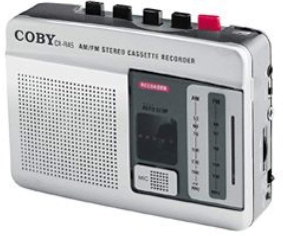 庭園郵便局骨の折れるCOBY CX-R45AM/FM Stereo Cassette Player/Recorder (Discontinued by Manufacturer) [並行輸入品]