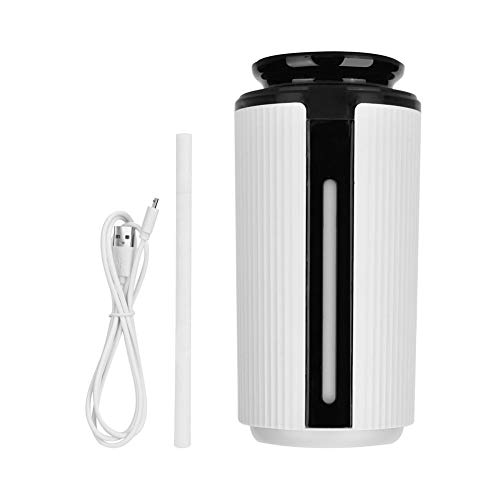 Luchtbevochtiger 900ML USB-diffuser 7 kleuren LED-licht aroma etherische olie luchtbevochtiger met een koele nevel voor zuivere lucht MEHRWEG verpakking socialme-eu