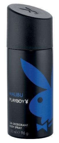 Playboy Malibu Deo Body Spray, 150 ml, 1er Pack (1 x 150 ml)