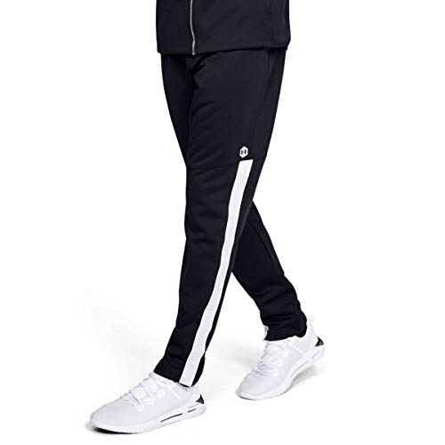 Under Armour Athlete Recovery Knit Warm Up - Pantalón Deportivo para Hombre, Hombre, Color Negro, tamaño Extra-Small