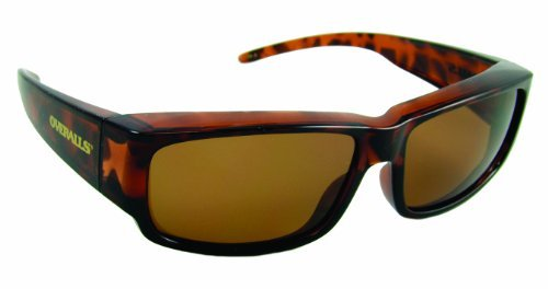 Sea Striker Overalls Sunglasses with Polarized Tortoise and Brown Lenses