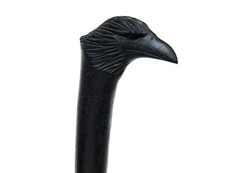 windalf Randonnée Tige MUnin Corbeau L : 180 cm fabriquée à la main en bois