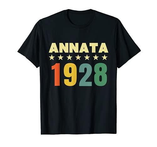 93 anni compleanno Maglietta Annata 1928 Maglietta