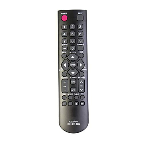 New Remote Control RC200NS00 fits for SANYO LCD-LED HDTV DP24E14M DP32D53 DP32D53M DP39D14M DP40D64 DP50E44M GXBB GXDB CS-90283U CS90283U NH315UD DP24E14M DP32D53 DP32D53 DP39D14M DP40D64 DP50E44M FVD