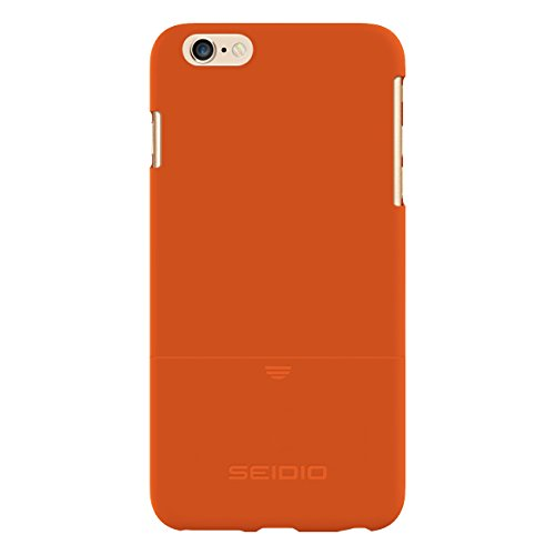 Seidio SURFACE Case for use with Apple iPhone 6 Plus - Retail Packaging - Orange