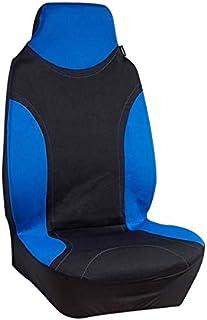 WEIYKUN 1x Coche Universal Cubierta del Asiento Delantero Asiento Asientos Cubierta del Protector de la Cubierta del Coche Mat Transpirable (Color Name : Blue)