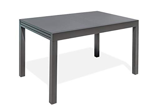 DCB GARDEN Gaston Table de Jardin, Anthracite