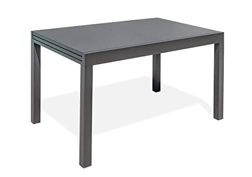 DCB GARDEN Gaston Table de Jardin, Anthracite
