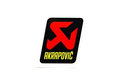 Akrapovic - vertikaler Aufkleber