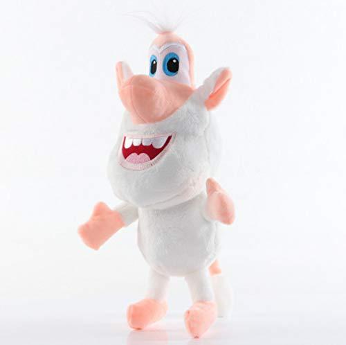 bozhengzb Booba Buba Plüschtier Schwein Schwein Kuscheltiere Puppe Cartoon Charakter Geburtstagsgeschenk Für Kinder 30cm Weiß