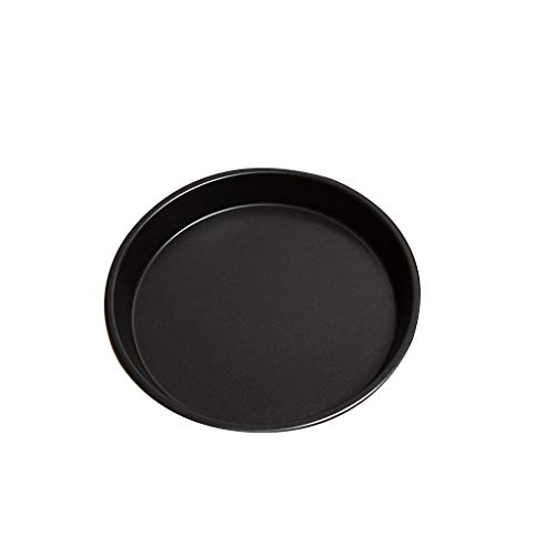 niumanery New Non Stick Pizza Tray Carbon Steel Baking Round Oven Tray Pizza Pan A