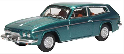 Oxford Diecast 76RS005 Reliant Scimitar Tudor Green Metallic