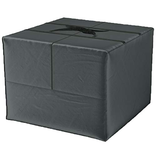 Climecare Aufbewahrungstasche Deluxe XXL (80x80x60 cm) und Schutzhülle für Auflagen - Gartenauflagen Aufbewahrungstasche aus 420D Polyester, Wasserdicht