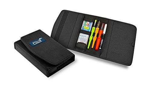 Pica 55020 markeerstiften, set voor installateur, timmerman potlood - voor steen, metaal, banden, glas enz. – Met tas.