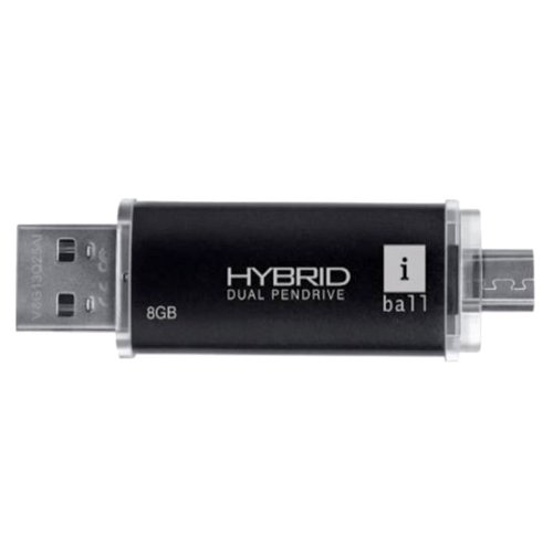 iBall Hybrid Dual 8GB Pendrive