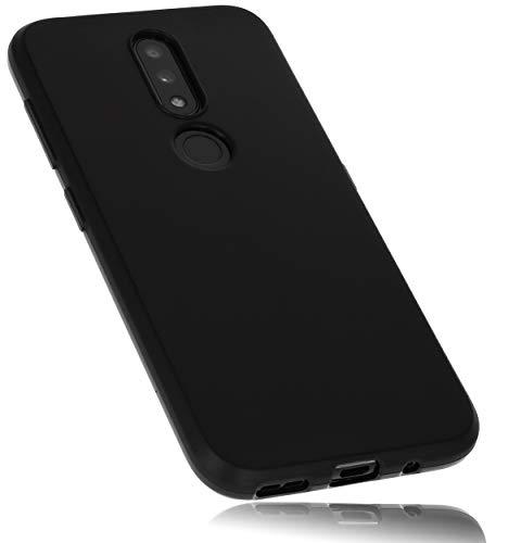 mumbi Hülle kompatibel mit Nokia 4.2 Handy Hülle Handyhülle, schwarz