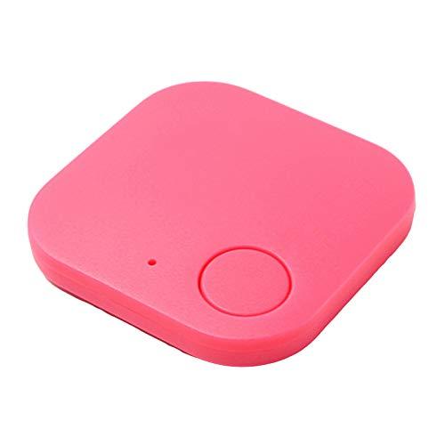 SunshineFace Localizador GPS para mascotas inalámbrico, BT 4.0 GPS Pet Tracker dispositivo anti-pérdida para bolsas maleta control remoto (enviado sin batería)