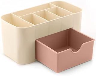 Plastic Cosmetic Storage Box Multifunction Desktop Storage Boxes Drawer Makeup Organizer s Stationery Storage Organizer Dr...