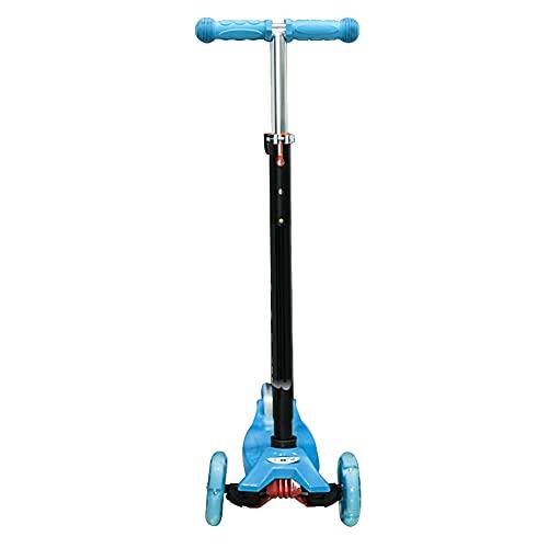 De múltiples fines Adecuado for los scooters de los niños for niños y niñas de 4 a 12 años. Plegable ajustable en altura equipado con PU Ruedas de amortiguación Materiales ecológicos respetuosos con e