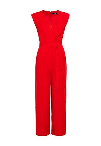 HALLHUBER Jumpsuit aus Tencel™ weit schwingende Hosenbeine rot, 34