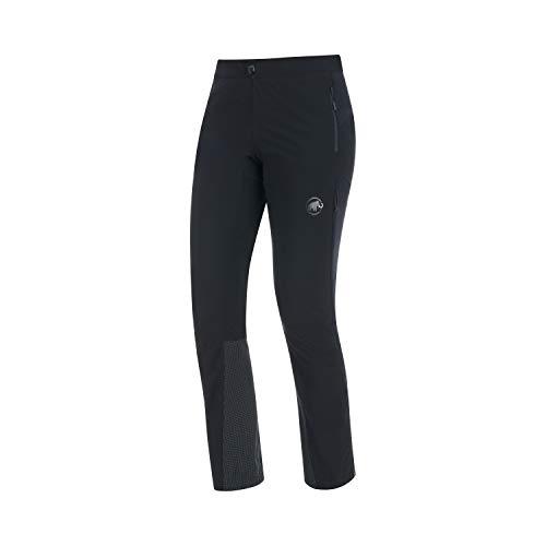 Mammut Damen Botnica Softshell Skitouren-Hose, Black-Black, 38