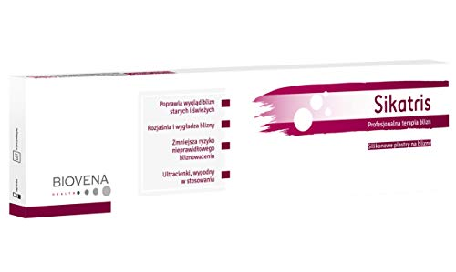 Narbenpflaster Silikonpflaster Scar 1 Stück 5x30 cm (150 cm2) hypertrophe postoperative Narbe Narbengeschwür +GRATIS: Black Mask