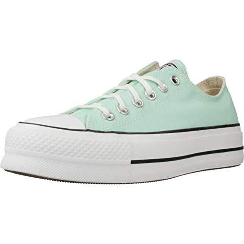 Calzado Deportivo para Mujer, Color Verde (OCEMINT), Marca CONVERSE, Modelo Calzado Deportivo para Mujer CONVERSE Chuck Taylor All Star Lift Verde