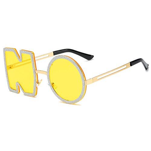 Gafas De Sol Hombre Mujeres Ciclismo Gafas De Sol De Moda para Mujer Gafas De Sol con Letras De Metal Gafas Femeninas-03