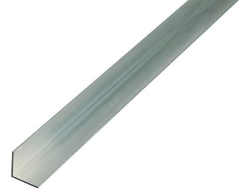 GAH-Alberts 473938.0 Perfil angular (aluminio, 1000 x 10 x 10 mm), Natural