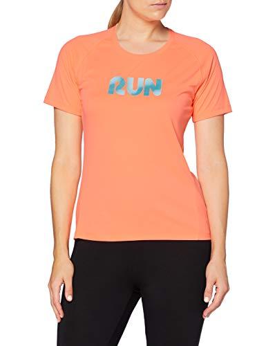 Pro Touch Bonita III T-Shirt Femme, Neon Peach, FR : XL (Taille Fabricant : 42)