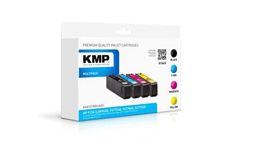 KMP - Cartucho de Tinta H164V (sustituye a HP 913A)