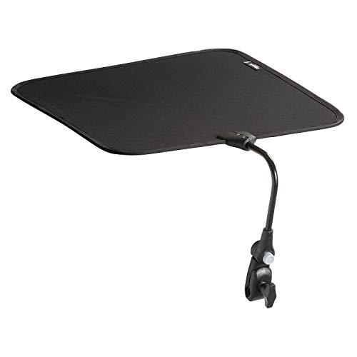Lafuma Ombrelle pour fauteuil relax et transat, Couleur: Noir, LFM2860-0247