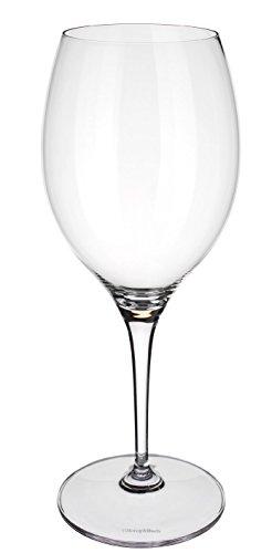 Villeroy & Boch Maxima Bordeaux - Set di 4 calici per vino rosso, in cristallo senza piombo, lavabile in lavastoviglie, 616,6 g