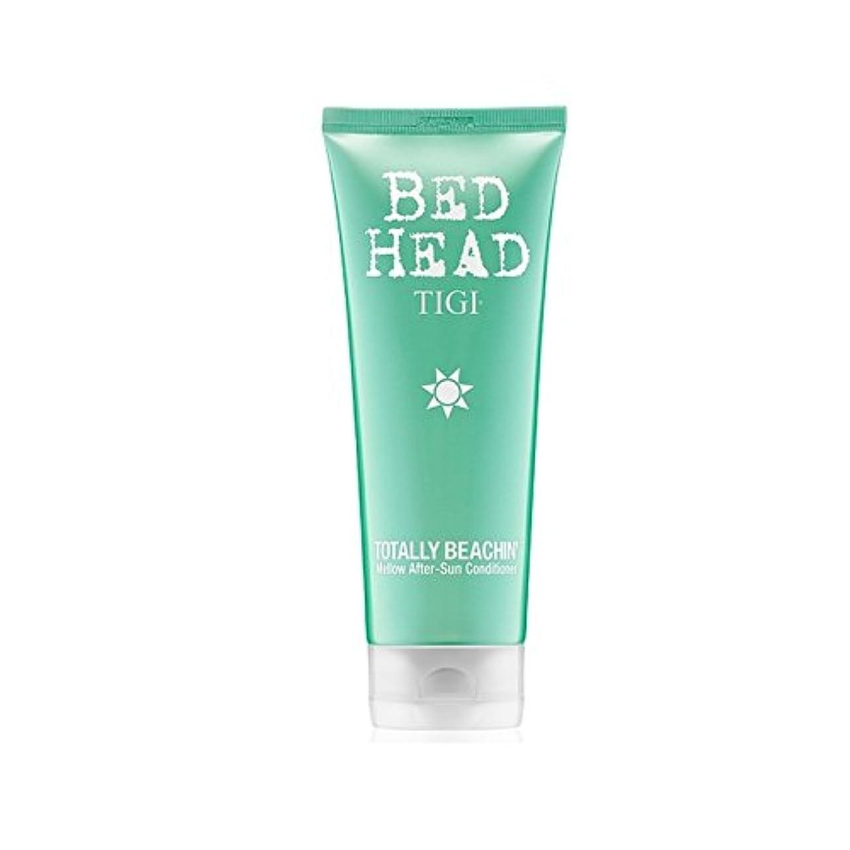 空気づくなる上級Tigi Bed Head Totally Beachin Mellow After-Sun Conditioner (200ml) (Pack of 6) - ティジーベッドヘッド全くまろやかアフターサンコンディショナー(200ミリリットル) x6 [並行輸入品]