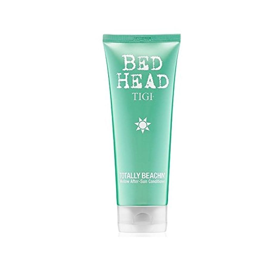 プロット本質的ではない火曜日ティジーベッドヘッド全くまろやかアフターサンコンディショナー(200ミリリットル) x4 - Tigi Bed Head Totally Beachin Mellow After-Sun Conditioner (200ml) (Pack of 4) [並行輸入品]