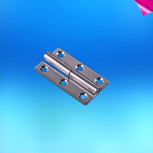 RVS 304 Shape Afneembare Scharnier 1,5/2 / 2,5 Inch, For Aluminium Deuren Badkamer Hek Badkamer Verwisselbare Meubelscharnieren (Color : 2.5 inch left)
