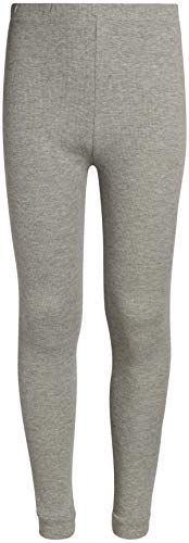 Sweet & Sassy Girl's 2-Pack Thermal Warm Underwear Top and Pant Set-Grey/White-6x