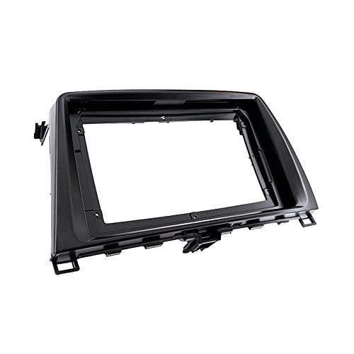 You You Soporte para radio de coche de 9 pulgadas para Mazda 6 Atenza 2009-2013 estéreo de instalación de salpicadero kit de marco adaptador de panel de bisel