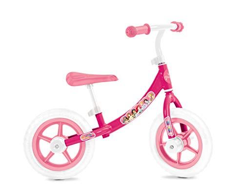 Mondo 28500 Bicicleta de Equilibrio, Blancorosa, Bambini