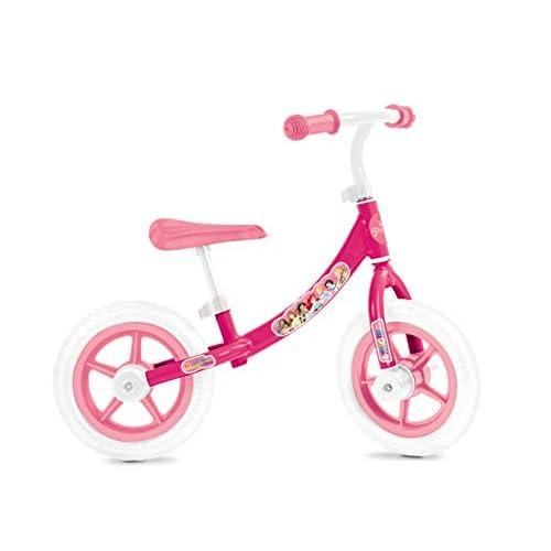 Mondo Toys - Princess Balance Bike - biciletta senza pedali per bambini - peso fino a 25 Kg. -  colore bianca/rosa - 28500