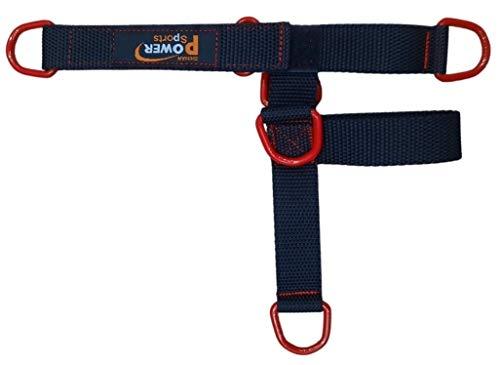Correa para tobillo y pie PENTAGON 5 – Anillo para máquina de gimnasio con cable de 5 anillos para hombres y mujeres, yoga, pilates, ideal para terapia de pies