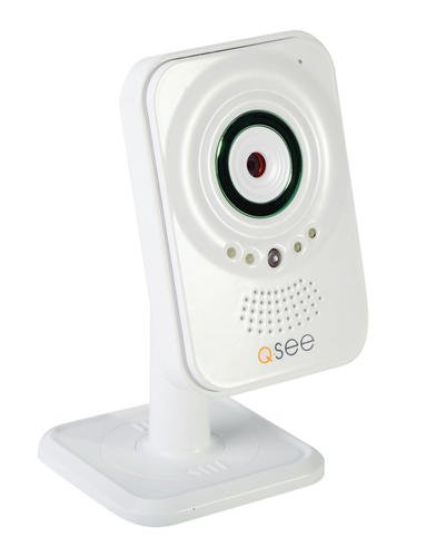 Q-See QN6401X Cámara de Seguridad IP Interior Blanco 640 x 480Pixeles - Cámara de vigilancia (Cámara de Seguridad IP, Interior, Blanco, Escritorio, 640 x 480 Pixeles, Inalámbrico)