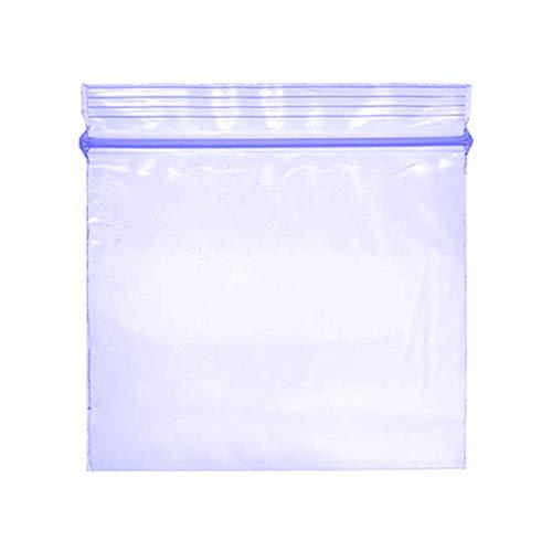 1000 – 40 x 40 pequeño plástico Ziplock Baggies Blue