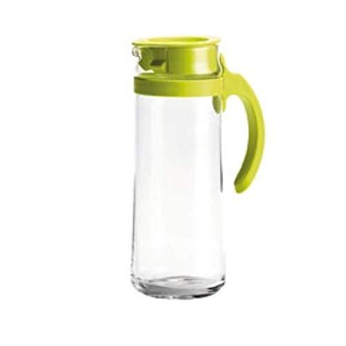Verre Pitcher eau froide verre Teapot, Pitcher et Carafe thé, café, limonade et glace Théière en verre Pichet Eau Jug (Couleur: Vert) (Color : Green)