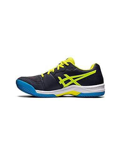 Asics Gel-Padel Pro 4, Indoor Court Shoe Hombre, Carrier Grey/Sour Yuzu, 40.5 EU