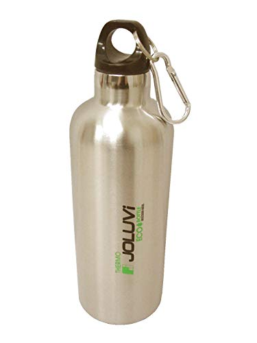JOLUVI ECOTHERMO GOURDE BOUTEILLE ISOTHERME EN ACIER INOXYDABLE 600 ML