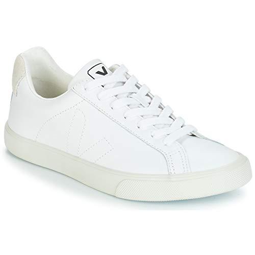 Veja Damen Sneaker Esplar Logo Leather Weiss (10) 36EU
