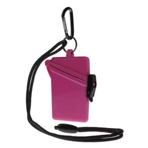 Witz Pink Waterproof Surf Safe with Breakaway Lanyard And Carabiner (P/N 00108)