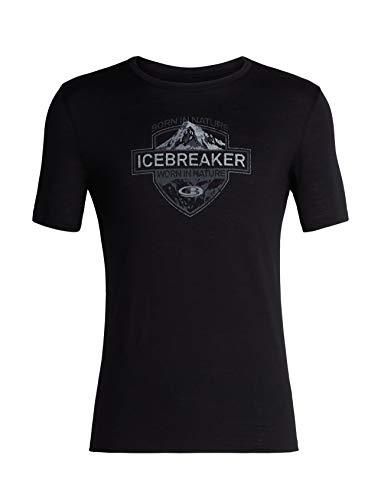 Icebreaker Tech Lite Ss Crewe Alpine Crest T-shirt voor heren